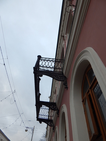 balcony: Balcony without floor