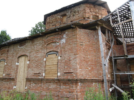 rennovation: Old Russian Church
