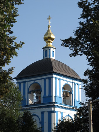 bell tower: Bell tower of Russian church