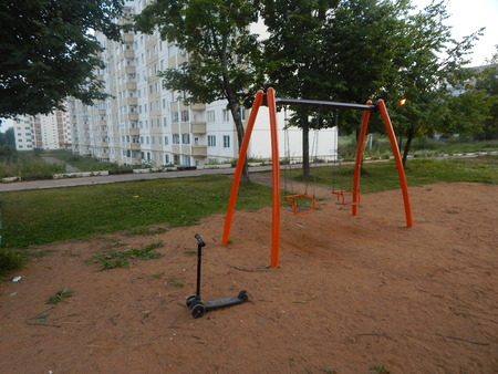 teeter: Empty playground