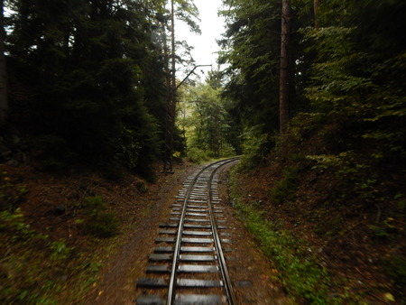 narrowgauge: Single-track narrow gauge railway in Georgia