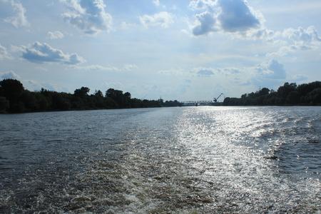 By boat along the Volga