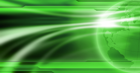 News background wallpaper. Abstract empty green background for global news image. News template.