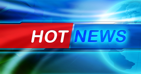 Hot news header