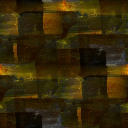 abstract seamless hand painted watercolor yellow black background Stock Photo - 16694924
