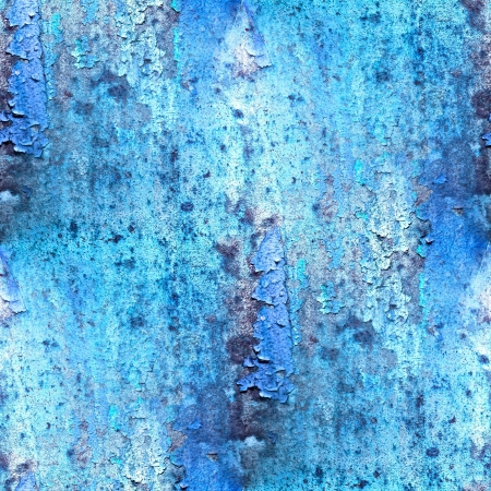 oxidate: seamless blue abstract grunge texture with cracks in paint