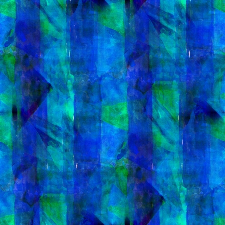 abstract blue green painted wallpaper contemporary art backgroun photo