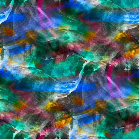 daub: abstract green blue red painted wallpaper contemporary art backg