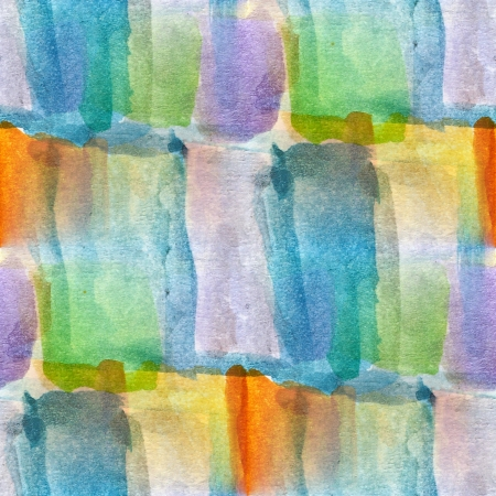 abstract watercolor Blue, green, yellow seamless texture hand pa Stock Photo - 16704270