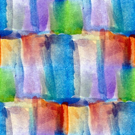 picture watercolor seamless blue cubism background