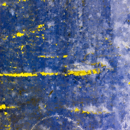 blue abstract texture old wall with cracks on the paint Stock Photo - 16718794