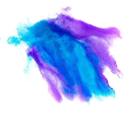 blue spot purple macro blotch texture isolated on a white backgr Stock Photo - 16718686
