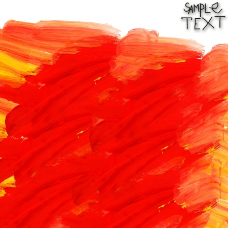 hand red yellow watercolour brush texture wallpaper photo