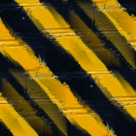 Seamless yellow black stripes stone wall wallpaper photo