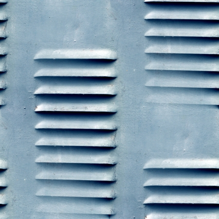 grunge seamless  texture of old iron shutters ventilation wallpa Stock Photo - 16747208
