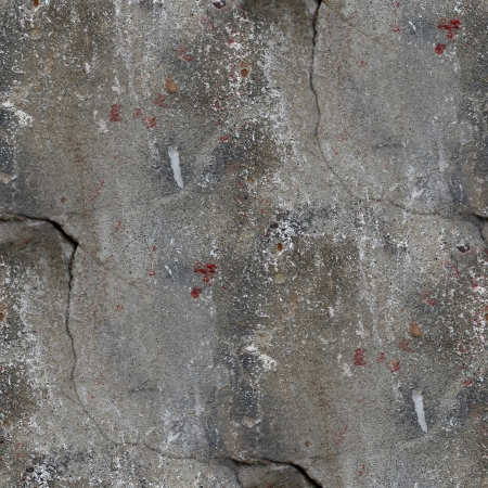 seamless background old concrete wall with cracks texture photo