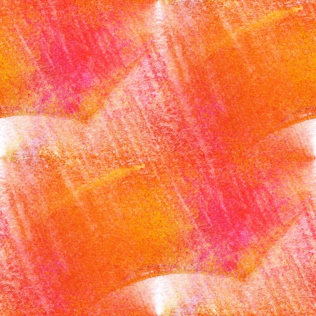 seamless painting red yellow orange watercolor with bright brushstrokes and blotches Stock Photo