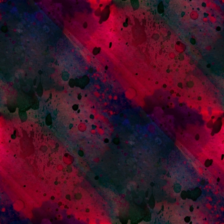 seamless painting watercolor with bright black purple red brushstrokes and blotches photo