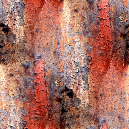 seamless red abstract grunge texture with cracks in paint photo