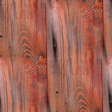 Seamless red background texture old wood boards wood photo