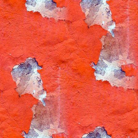 seamless red texture grunge wall background Stock Photo - 16867471