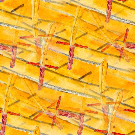 seamless texture color watercolour yellow sword weapon abstract photo