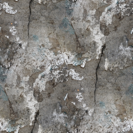 seamless texture of old stone wall with a crack background photo