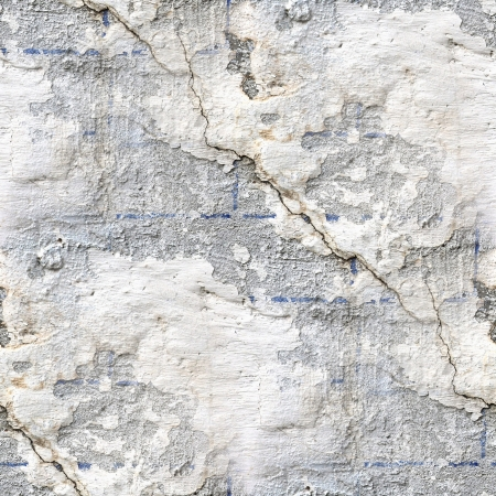 seamless pattern: seamless texture of old stone wall with a crack