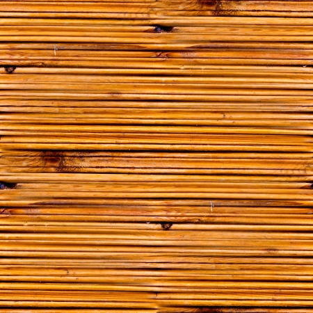 seamless texture of old yellow wood boards photo
