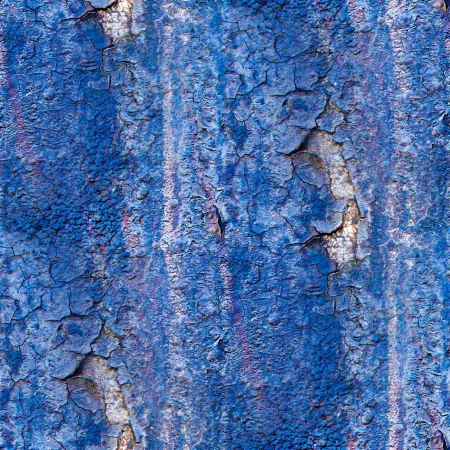 seamless texture of rusty blue colored rough Stock Photo - 16867508