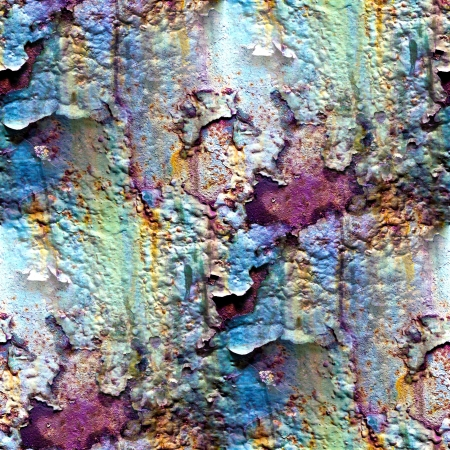 oxidate: seamless texture of rusty colored rough