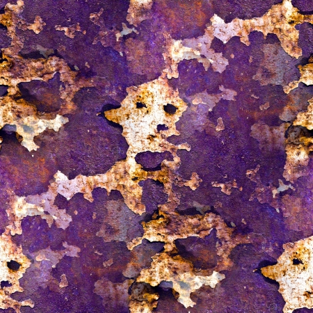 oxidate: seamless texture purple of rusty colored rough