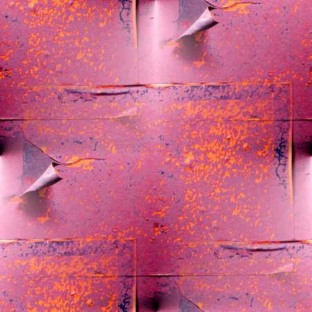 seamless texture rusty red metal plate photo