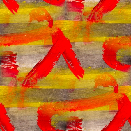 seamless yellow red black background watercolor color water abstract art  photo