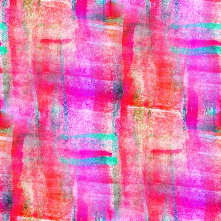 watercolor art pink red seamless abstract texture hand painted background photo