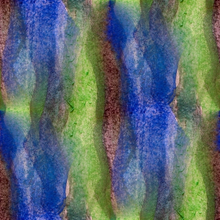watercolor green, blue, brown seamless abstract texture hand painted background photo