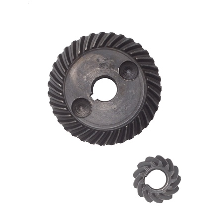 gears metal isolated against a white background photo