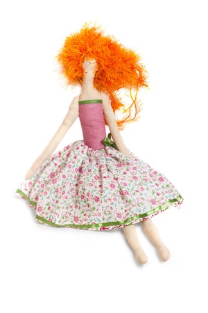I sewed the doll itself Stock Photo - 16899563