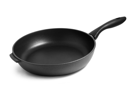 pan black frying isolated on white background Stock Photo - 16872713