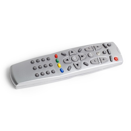 remote tv control access monitoring support isolated  photo