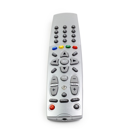 access remote control tv monitoring support isolated  photo