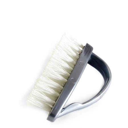 dishwashing brush isolated on white Stock Photo - 16955641