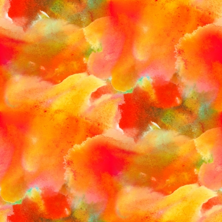 bright red yellow background seamless handmade watercolor photo