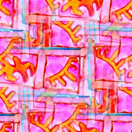 pink seamless cubism abstract art Picasso texture watercolor wallpaper background