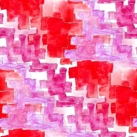 red seamless cubism abstract art Picasso texture watercolor wallpaper background photo