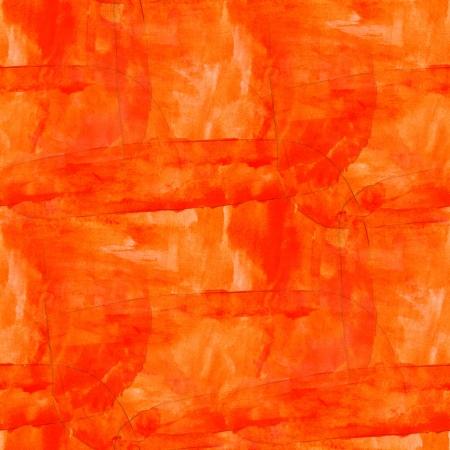 seamless orange cubism art texture watercolor background