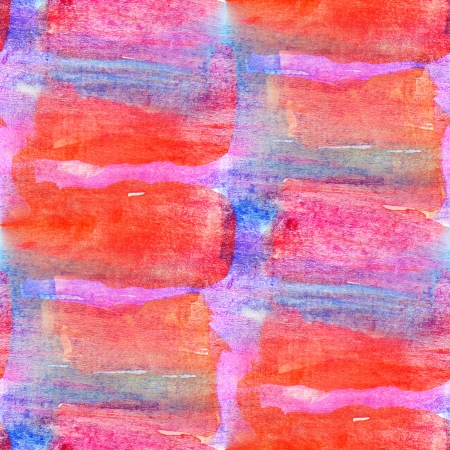 art watercolor and background, seamless paint background , texture abstract background , pattern red blue abstract background photo