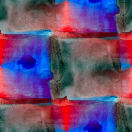 abstract blue red watercolor seamless texture hand painted background photo