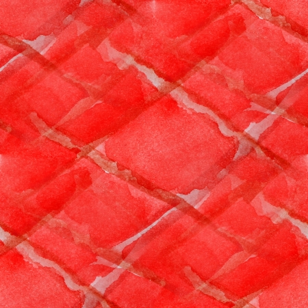 abstract red watercolor seamless texture hand painted background photo