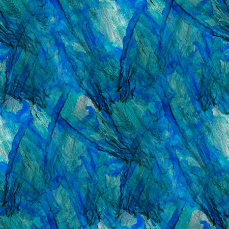 blue abstract watercolor art seamless texture hand painted background photo